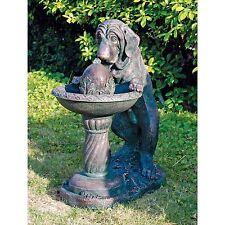SS10795 - Dog's Refreshing Drink Sculptural Fountain w/Recirculating Pump!