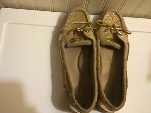 womens Sperry topsides boat shoes size 12