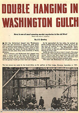 Washington Gulch And Double Hanging + Genealogy