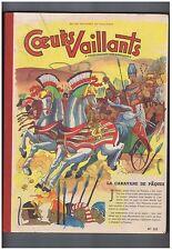 COEURS VAILLANTS Album 22 - n°1 à 17 de 1956 - TTB