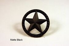 RAISED STAR KNOB MB WESTERN CABINET HARDWARE DRAWER PULLS TEXAS STAR KNOBS PULL