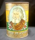Old Master Coffee 1 lb tin w/ lid by Blodgett-Beckley Co., Toledo. O. (Ohio)