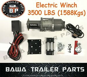 Electric Winch 3500 ! TRAILER PARTS