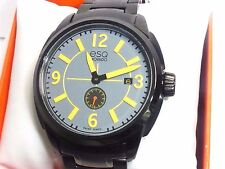ESQ by Movado 07301449 Mens Excel Black Ion Plated Swiss Quartz Watch