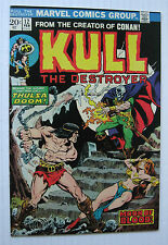Kull The Destroyer #12 (MCG 2/74) VF+ 'Moon of Blood!' Ploog-c/a. Nice!!