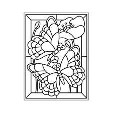 "Darice Embossing Folder 4 1/4""x5 3/4"" - MOASIC BUTTERFLY - 30008389"