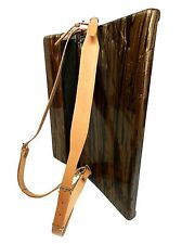 New Genuine Leather Accordion Straps 80-120 Bass Brown