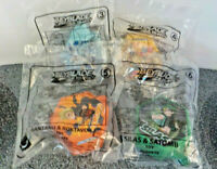 McDonald's Happy Meal Toys Set Of Four Of Bey Blades Burst 3-6 All Sealed New