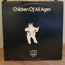 Children of All Ages 1975 Different Drummer Records Vinyl LP Private Funk Fusion