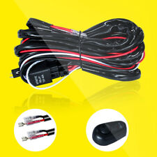 Universal 12V Car Remote Control Flash Strobe 2Lead LED Light Wiring Harness Kit