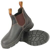 Blundstone 311 Leather Elastic Side Steel Toe Work Safety Boots---Special