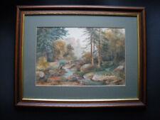old original watercolour painting
