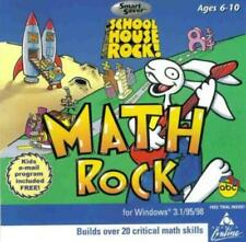 School House Rock Math Rock Pc Cd learn early geometry pattern numbers kids game