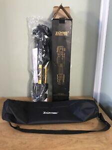Zomei Tripod Z666 Professional Portable Travel Aluminium for DSLR Camera