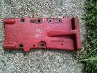 Farmall 460 560 tractor IH hydraulic control valve side mount bracket
