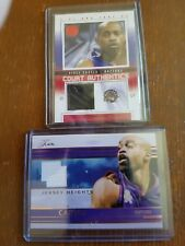 2 Vince Carter Jerseys 1 court authentics and 1 Jersey Heights Raptors