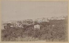 Bordighera Italie Italia Tirage albuminé Vintage albumen ca 1875