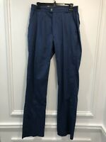 Vintage Woolrich 34 x 34 Pants Trousers Deadstock Navy Cotton Stretch 1960 Retro