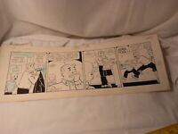 1957 publishers Syndicate Original Comic Strip Antique Funny Pages The Berry's