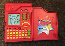 POKEMON POKEDEX ORIGINAL 1998 ELECTRONIC TOY TIGER ELECTRONICS RED TESTED RARE