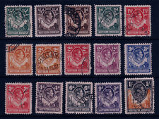 NORTHERN RHODESIA #25//40 Mint and Used KING GEORGE VI  Total SCV $23.40