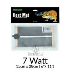HabiStat Heat Mat, Ultra-long wavelength infra red heat mats for reptiles 7 Watt