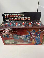 Transformers G1 - City Commander Ultra Magnus + Box (Hasbro, 1985)(GS)