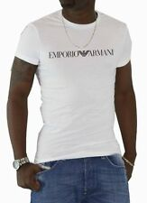 BNWT EMPORIO ARMANI Designer white men's t-shirt,Muscle fit, Size S, M, L, XL