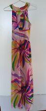 BARDOT Pink/Multi Coloured Maxi Dress Size 6