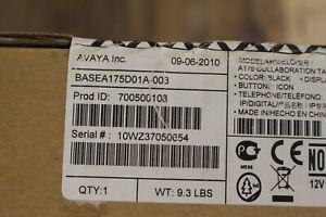 AVAYA-New Sealed 700500108-BASEA175D01A-003-Avaya Tablet Base phone ip digital