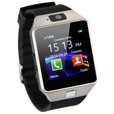2 IN 1 Bluetooth Smart Watch Uhr Kamera SIM Karte für Android iPhone Samsung HTC