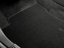 Ford Focus (01/11 - 10/14) Premium Velour Car Mats - Fronts Grey Logo (1717442)
