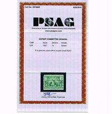 GENUINE SCOTT #328 VF USED 1907 GREEN PSAG CERT JAMESTOWN EXPOSITION ISSUE