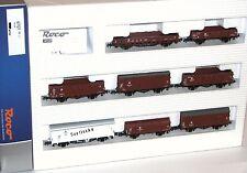Roco H0 67127 8-teiliges Güterwagen-Set der DR - NEU + OVP