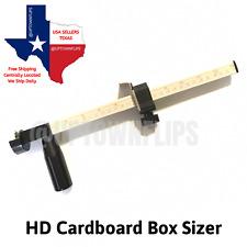 HD Cardboard Box Resizer Carton Reducer Sizer Scorer Heavy Duty Scoring Tool