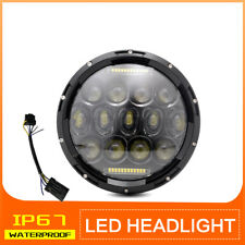 7 inch Round Motorcycle LED Headlight Hi-Lo Beam DRL for Harley Davidson Touring