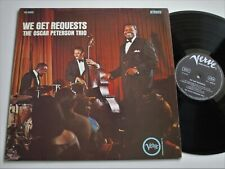 THE OSCAR PETERSON TRIO WE GET REQUESTS VERVE LP MINT-