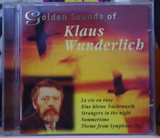 GOLDEN SOUNDS OF KLAUS WUNDERLICH COMPACT DISC EMI 1996