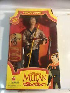 Disney's Mulan Captian Li Shang by Mattel 1997 NIB