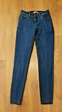 LADIES GIRLS DENIM & CO STRETCH SKINNY JEANS SIZE UK 6
