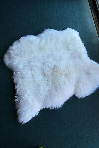 100% Genuine Sheepskin Lambskin Rug 100-110*100-110cm