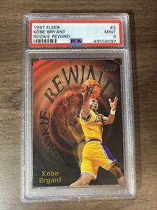 1997 Kobe Bryant Fleer Rookie Rewind #3 PSA 9