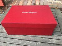 BOITE CHAUSSURES VIDE SALVATORE FERRAGAMO EMPTY SHOE BOX