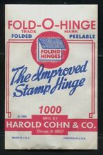 Fold-O-Hinge 1955 Unopened Packet of 1000