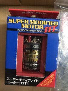 New Tamiya Super Modified 11T Brushed Motor Very Rare