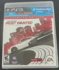 Need for Speed: Most Wanted -- Limited Edition (Sony PlayStation 3, 2012)
