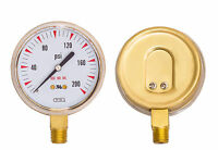 """2.5"""" inch x 200 PSI 1/4"""" NPT Oxygen Gauge Welding Regulator Repair Replacement"""