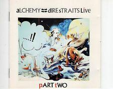 CD DIRE STRAITSalchemy live - part twoGERMAN 1984 EX  (A0909)