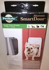 (New, Box Not Perfect) PetSafe (Small) SmartDoor Electronic Dog Door Ppa11-10711