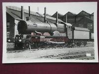 POSTCARD RP GWR COLLETT  CASTLE 4-6-0 LOCO NO 5070 SIR DANIEL GOOCH